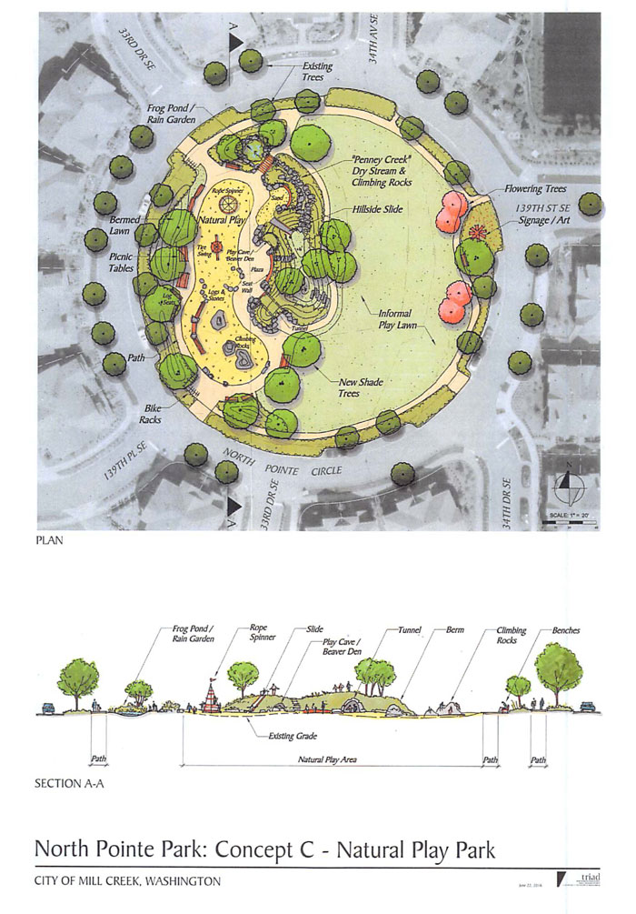 Exploration Park, which is located in the North Pointe neighborhood, will get a significant upgrade this year