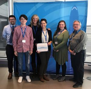 Cascade High School received a trendsetting in manufacturing award at the October 3, 2019,Boeing Company's Manufacturing Day Partner Recognition Luncheon. The school's CorePlus Aerospace program prepares high school students for in-demand jobs.