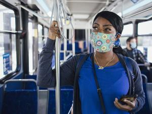 Here's some refreshing info that will help you breathe easy while riding Community Transit: there is excellent air circulation and ventilation on their buses to help reduce the spread of COVID-19.