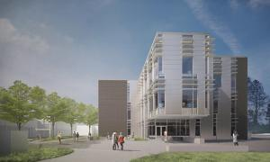 Concept drawing of new SET Building. Image courtesy of Edmonds Community College.