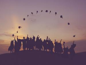 """Everett Public Schools celebrates another year of achieving a record high graduation rate. The four-year, or """"on-time"""" graduation rate, is 95.9 percent – the highest rate on record for the district. The five-year graduation rate is 96.5 percent, also the highest rate on record."""