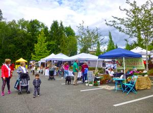 The City of Mill Creek will again sponsor summer farmers markets in 2019, but they will be held on Tuesdays rather than on Fridays. The Mill Creek Farmers Markets will also be open a bit later to accommodate people with jobs.