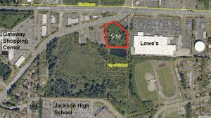 The City of Mill Creek is currently evaluating a proposed binding site plan application for a new high-end dog boarding facility called Muttley Square located near the intersection of Bothell-Everett Highway and 132nd Street SE, northeast of the Les Schwab store.