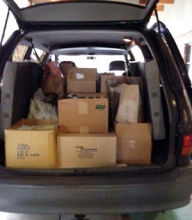 Forest View, Silver Firs and Cedar Wood elementary school students help Mill Creek Food Bank with 2,000 cans of food!
