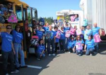 The Everett School District is looking for volunteers for multiple Stuff the Bus community events in August.