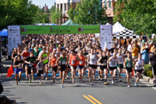 """Title Sponsor and organizer Steve Knox of Columbia Funding Mortgage has announced that Saturday July 12th, 2014 will be this year's date for the 29th Annual """"Run of the Mill"""" 5K charity race/walk in Mill Creek Town Center."""