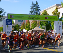 Mill Creek's annual Run of the Mill 5K road race was held under sunny skies and warm temperatures on Saturday, July 12, 2014.