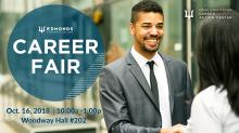 Edmonds Community College will host a fall quarter career fair on Tuesday, October 16, 2018. This free event will feature local employers with full-time, part-time, and seasonal employment opportunities.