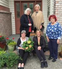 """Mill Creek Garden Club wrapped up their 2020-2021 year with a """"Let's celebrate"""" virtual meeting. During the past year, the club added new members, gave just over two tons of non-perishable food items to our Mill Creek Community Food Bank, donated to the Toys for Tots program, and much more."""