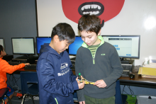 Mill Creek Elementary students in hands on learning exercise. Photo courtesy of Everett Public Schools.