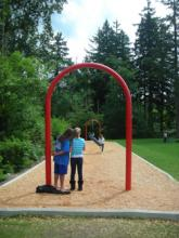 New Cable Ride, Zip Line at Cougar Park.