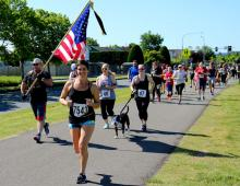 Monroe VFW Post 7511 is excited to host the second annual Flags for our Fallen, a family-friendly 5-kilometer walk/run event that takes place 9:30 am, Saturday, May 26, 2018, at Lake Tye Park in Monroe.
