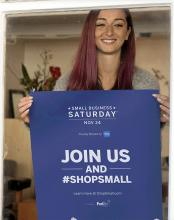 Local small businesses need our support!  On Small Business Saturday, November 24, 2018, shop locally to ensure our local businesses can continue to provide quality goods and services in Mill Creek.