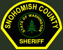 The Snohomish County Sheriff's Office is on-scene at Glacier Peak High School in Snohomish, which is being evacuated after a bomb threat was found there in a bathroom on Thursday morning, January 8, 2015.