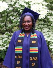 Brenda Obonyo, who served as student government executive officer for administration, was be the 2020 student commencement speaker.
