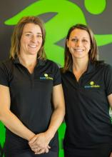 Inner Athlete Fitness Studio owners Carissa Norman and Rachel Gaffney. Photo courtesy of Inner Athlete Fitness Studio.