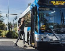 With safety measures in place and with the help of riders like you, choosing public transit continues to be a safe and reliable option during the pandemic.  As our communities work together to move forward, Community Transit will continue to connect communities while prioritizing safety.