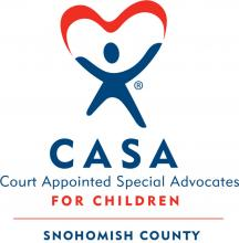 CASAvolunteers are everyday people using their voices to improve the life of a child. Image courtesy of Snohomish County.