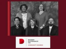 The Diligent Corporation announced that the Everett School Board is one of the Inaugural Modern Governance 100 Community Board honorees. This program is dedicated to the recognition of community governance leaders who are committed to driving positive organizational change.