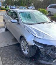 Washington State Patrol detectives are looking for witnesses to a February 19, 2021, hit and run collision that occurred along State Route 524 near Nellis Road in Bothell. Anyone that may have seen the vehicle driving in the area, or of the pedestrians in the area are urged contact them.