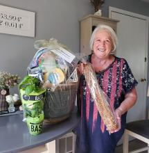 """If the goal is to uplift the membership, it is working. Once again, President Lyndal Kennedy and her Mill Creek Garden Club officers conducted a random, """"pull the name out of the hat"""" raffle for our members."""