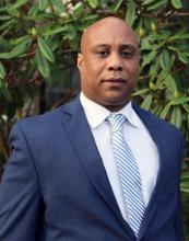 U.S. Army veteran Gregory Hinton was selected to be vice president of finance and operations at Edmonds Community College. His first day on the job was January 16, 2020.