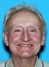 "Groeneveld is 5'7"" tall, weighs 150 lbs., and has grey hair and blue eyes. He was last seen wearing a red knit cap, brown pullover shirt and blue US Postal Service pants. Photo courtesy of Snohomish County Sheriff's Office."
