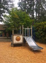 Snohomish County will contribute up to $150,000 to the City of Mill Creek's Heron Park upgrade project. The city has budgeted $410,000 to make repairs to the park in the Parkside neighborhood including replacing the playground equipment and the old cedar-shake picnic shelter/restroom roof.