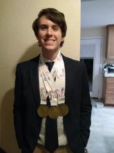 Cascade High School junior Max White took ninth place in Computer Problem Solving at the 2020 Nationals for Future Business Leaders of America Competition.