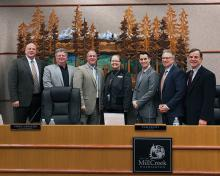 Mill Creek City Council. Photo courtesy of City of Mill Creek.