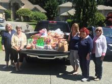 The economic impact of Covid-19 has increased the number of families needing assistance from food banks around the area. Wishing to be a good neighbor, Mill Creek Garden Club's Board approved a $1,000 donation to the Mill Creek Community Food Bank operated by the Hope Creek Charitable Foundation.