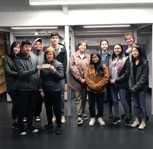 Everyone benefits by walking through a garden—it can calm or excite the senses.The North Creek High School Gardening Club, through a grant submitted by student, Joe Yamauchi, requested funds to create a Sensory Garden for the school's special-needs students.