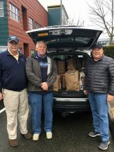 For seven consecutive years and in keeping with the spirit of Giving Thanks, Garden Club members attending Tuesday's meeting brought contributions of non-perishable food items for the Mill Creek Community Food Bank.