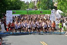 The Run of the Mill 5K race also serves as the East/West Senior All-Star Race, a celebration of high school cross country runners around the state who are graduating this year.