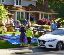 It's getting to be the time of year to go through your closets, clean out the garage and think about what you don't need anymore and could sell at the semiannual Mill Creek garage sale. Here in 2021, the fall garage sale is Saturday, October 2nd.