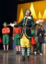 """Come enjoy one of the five performances of """"Elf The Musical"""" at North Creek High School beginning Friday, December 6, 2019, and ending on Saturday, December 14th, 2019."""