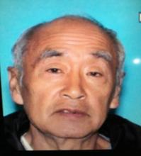 "Yoshihara is 5'10"" tall, weighing 175 pounds, with brown eyes and gray hair. Photo courtesy of Snohomish County Sheriff's Office."