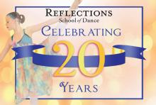 Come visit and enjoy some special treats at the Reflections School of Dance registration open house on Saturday, August 27th. Image courtesy of Reflections School of Dance.