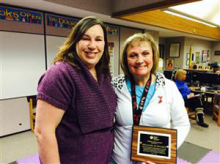 Rhonda Kaleiwahea, Mill Creek Elementary School PE teacher, recently won the Outstanding Achievement Award in support of the American Heart Association's effort in cardiovascular science, education and community programs.