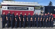 Fourteen South County Fire recruits started attending the Snohomish County Fire Training Academy on Monday, September 9, 2019. Most of the training in the 14-week program takes place at the South County Fire Training Tower near Mariner High School in unincorporated Everett.