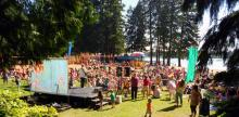 Children's concert at Silver Lake are Thursday mornings through August 18th. Photo courtesy of City of Everett.