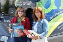 The Library on Wheels program from Sno-Isle Libraries will add a community bookmobile stopat Thrasher's Corner in south Snohomish County to its regular routes starting Saturday,September14, 2019, from 10:00 am to 1:00 pm.