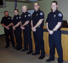 Five firefighters recently joined the ranks of Snohomish County Fire District 1