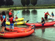 Fire District 7's Water Rescue Team is taking steps to educate kids ages 6 – 12 about the dangers found on the lakes and rivers. Fire District 7 held a Kid Water Safety Camp on Tuesday, July 2, 2019, with 21 campers rotating through four stations to learn water safety skills.