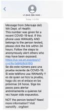 The Department of Health began texting verification codes to every person who tests positive for Covid-19 on Monday January 11th. The goal is to help WA Notify users quickly alert fellow users know that they've been exposed.