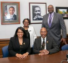 On Martin Luther King Jr. Day, the five black members of the Washington State House of Representatives established the Black Caucus, recognizing black leadership within the state legislature.
