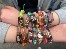 The Key Club of Jackson High School is initiating a Yuda Bands fundraiser selling handcrafted string and coconut shell bracelets by Guatemalan artisans. Profits go to support a young female student from Zimbabwe who wants to become a doctor.